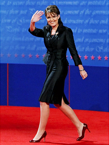 What would you like to tell Palin about the length of her skirts    Sarah Palin Skirt
